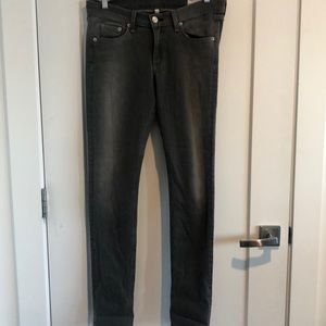 Rag & Bone grey skinny fit jeans